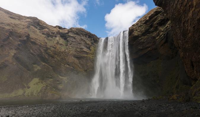 IJsland met een beperkt budget